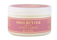 Nubian Heritage Goat's Milk & Chai Infused Shea Butter Jar  4oz /120ml