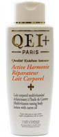 QEI+ Active Harmonie Reparateur multi-vitamin toning body lotion with carrot oil 16.8oz/500ml