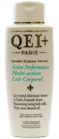 QEI+ Active Performance Multi-Action Moisturizing Toning Body Milk(Lotion) WIth Sweet Almond Oil 16.8 oz / 500 ml