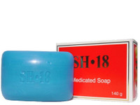 SH18 Soap (Red) Medicated  5 oz / 145 g