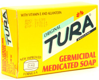 Tura Germicidal Medicated Soap (Blue) 2.50 oz / 75 g
