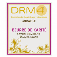 DRM4 MIRACLE Shea Butter Lightening Scrubbing Soap 200ml / 7oz