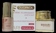 Makari PREMIUM+ Duo Pack (Whitening Cream 3.38oz/ & Serum 1.01oz)