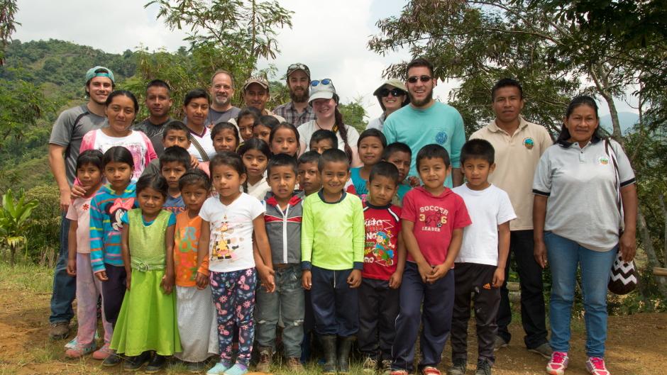 Nasa Primary School in Colombia