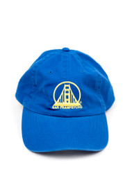 Warriors Embroidered Dad Hat