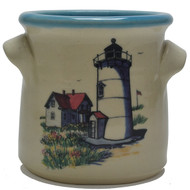 Small Crock - Lighthouse