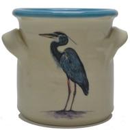 Small Crock - Heron