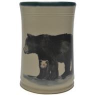 Utensil Holder - Black Bear