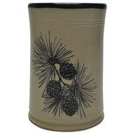 Utensil Holder - Pinecone