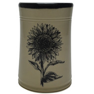 Utensil Holder - Sunflower