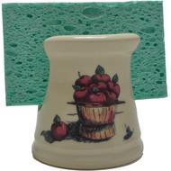 Sponge Holder - Apple Basket