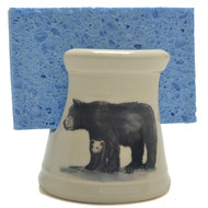 Sponge Holder - Black Bear
