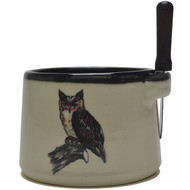 Dip Bowl with Spreader Knife - Owl