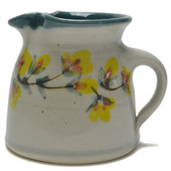 Creamer - Gold Flower Vine