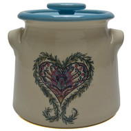 Bean Pot, 2 QT - Heart