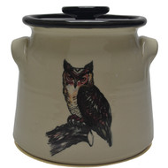Bean Pot, 2 QT - Owl