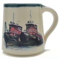 Coffee Mug - Tug Boats
