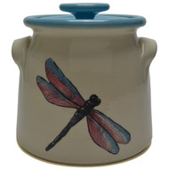 Bean Pot, 2 QT - Dragonfly