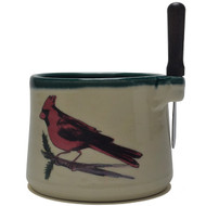 Dip Bowl with Spreader Knife - Cardinal