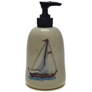 Soap Dispenser - Sailboat