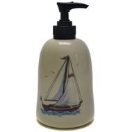Soap Dispenser - Sailboat