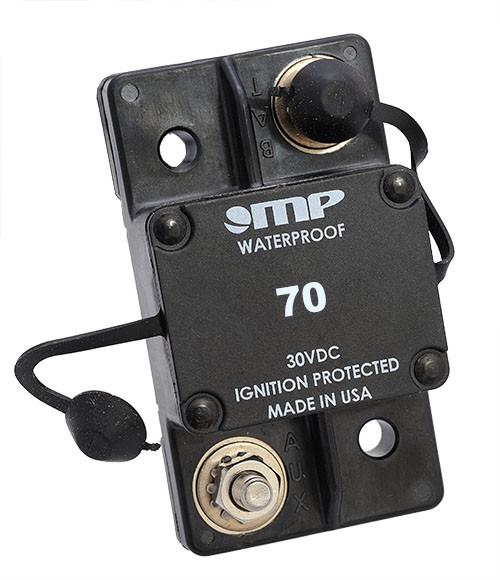Mechanical Products Type 1 Auto Reset 70 amp Breaker 171-S0-070-2