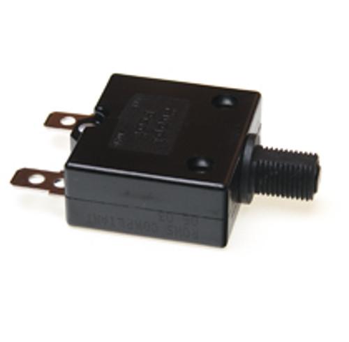 20 amp push to reset circuit breaker, black button, Carling, clb-203-27e3n-b-a