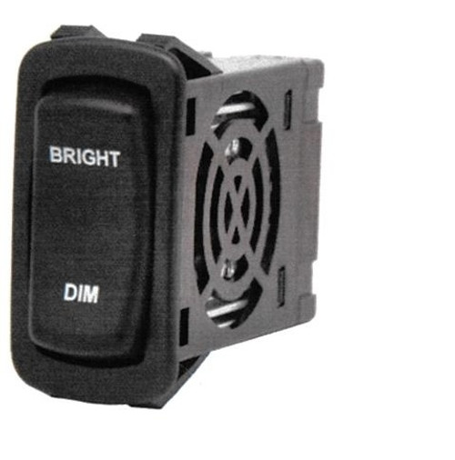 Carling Dimmer switch, LD3A1HH1-3AAFE-1FC, 2 green LEDs