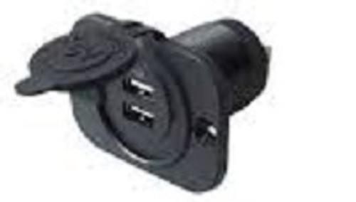 usb plug in, automotive, rv, marine, 2 place usb, phone charger, ipod, dual port
