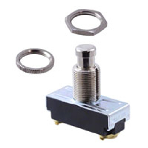 Carling, Momentary push button, off - momentary on, screw terminals, 172