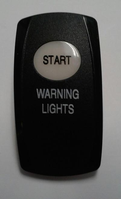 Start & Warning lights legends, Carling, actuator, V series, rocker switches