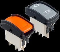 KH series: APEM's new power rocker switches