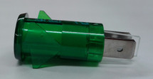 3150-4-00-57640 Solico 125 volt Neon Green Round Indicator Light
