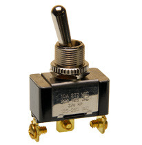 single pole on-on toggle switch, screw terminals