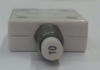 """mechanical products 10 amp push to reset circuit breaker, 7/16"""" bushing, quick connect terminals, 1600-037-100"""