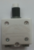 """mechanical products, 15 amp, push to reset, circuit breaker, 7/16"""" bushing, screw terminals bent 90 degrees 1600-082-150"""