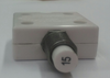 """mechanical products, 15 amp, push to reset, circuit breaker, 7/16"""" bushing, screw terminals bent 90 degrees 1600-247-150"""