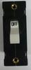 Carling Technologies Circuit breaker, 25 amp, A Series, single pole, magnetic AA1-B0-34-625-4B1-C