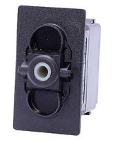 switch, marine, auto, rocker, on-off, single pole, sealed, Carling, V Series, V1D1S00B