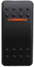 VVABC00-000 Carling Contura 2 Hard Black Actuator, 1 amber bar lens