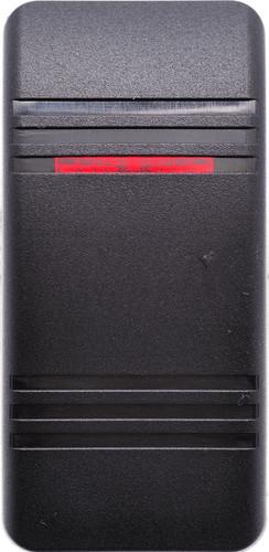 carling, contura, v series, actuator, switch cap, 1 red bar lens, VVCMC00-000