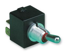 Otto Toggle T7-212E5, DPDT (ON)-OFF-(ON), quick connect terminals