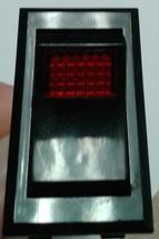 McGill Momentary Illuminated Rocker Switch 0851-0071