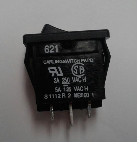 Carling Miniature Rocker Switch  On
