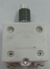 """Push to Reset, mechanical products, circuit breaker, 25 amp, #6-32 screw terminals bent 90 degrees, 7/16""""-28 bushing, 1600-082-250"""