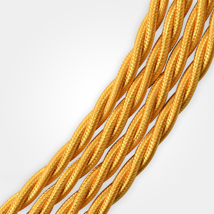 Gold Braided Cable Flex