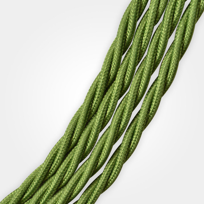 Green (Olive) Braided Cable Flex