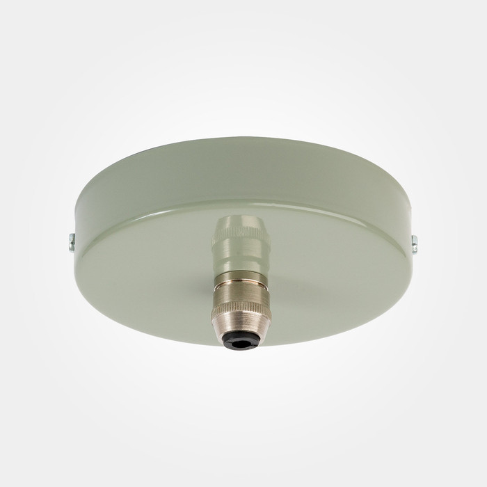 Domestic Ceiling Rose - Olive Grey