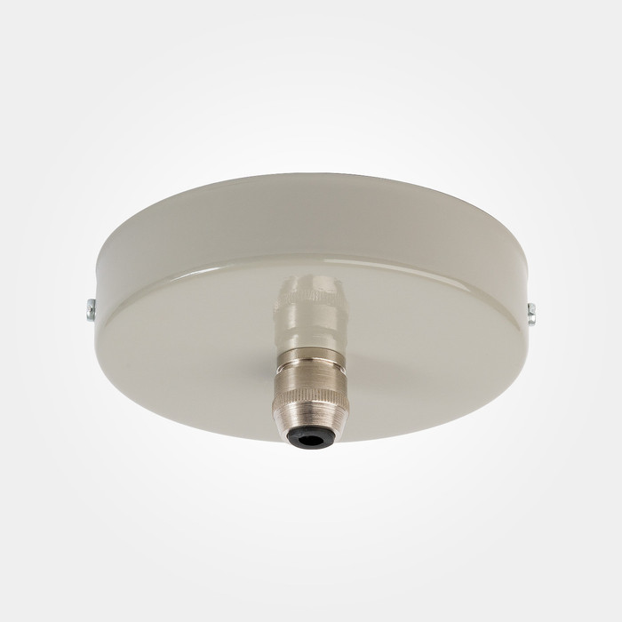 Domestic Ceiling Rose - Mid Grey