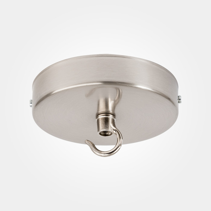 Domestic Ceiling Rose - Hook - Nickel
